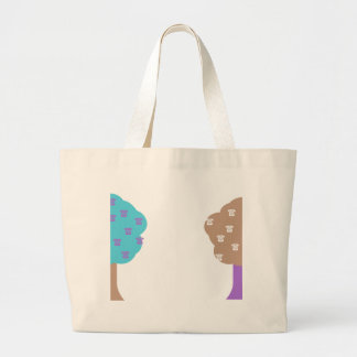 The Ringing Trees Large Tote Bag