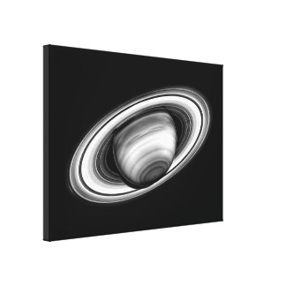 The Rings of Gas Giant Saturn - solar system image Canvas Print
