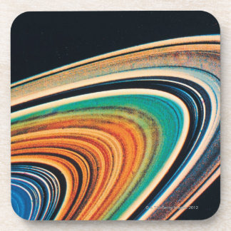 The Rings of Saturn 2 Drink Coaster