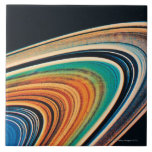 The Rings of Saturn 2 Large Square Tile