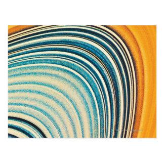 The Rings of Saturn Postcard