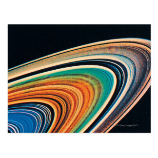 The Rings of Saturn Postcard