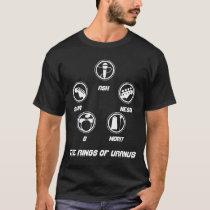 The Rings of Uranus Official Tour t-shirt