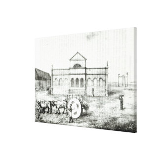 The Rio Exchange a Public Trapiche Canvas Prints