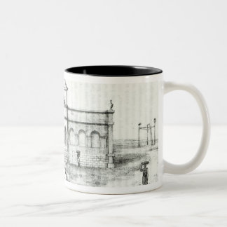 The Rio Exchange, a Public Trapiche Two-Tone Coffee Mug
