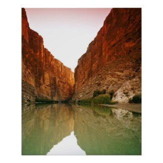 The Rio Grande, Big Bend NP, Texas Poster