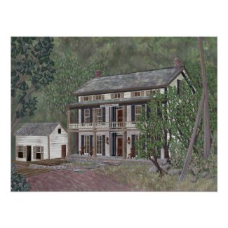 The Rip Van Winkle House