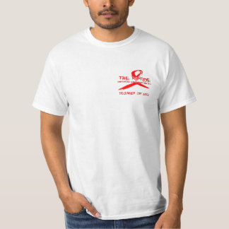 The Riptide World Aids Day T-shirt (white)