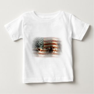 The Rise of a Nation ... Baby T-Shirt