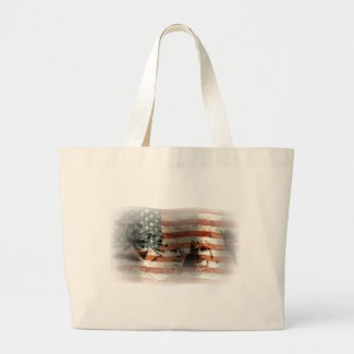 The Rise of a Nation ... Large Tote Bag