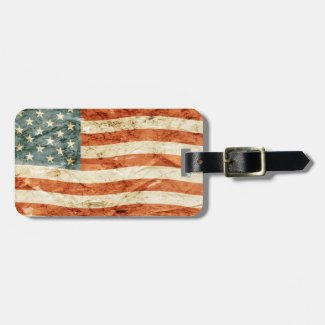 The Rise of a Nation Luggage Tag