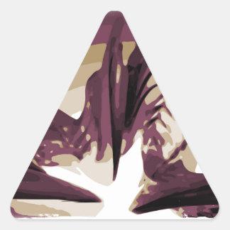 The Rise of Lava Triangle Sticker