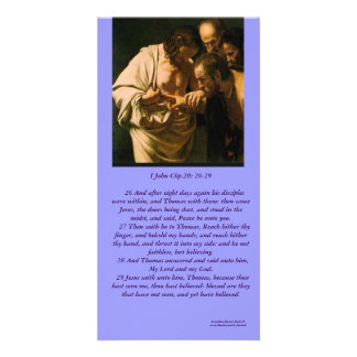 The Risen Christ Sees ApostleThomas-Photo Card Photo Card