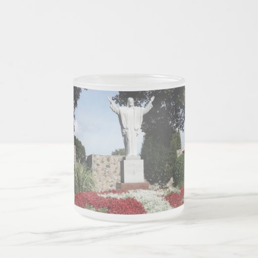 The Risen Jesus Christ statue Coffee Mugs