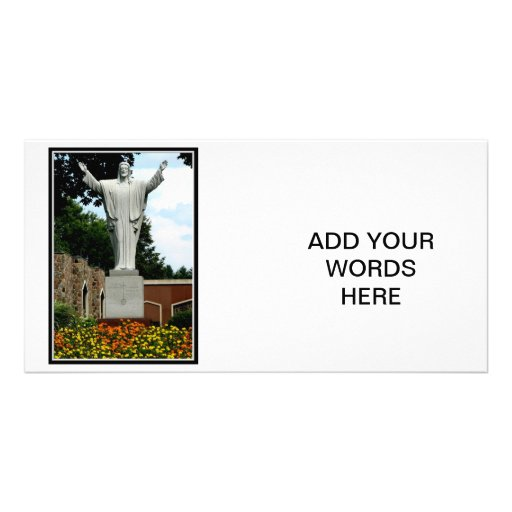 The Risen Jesus Personalized Photo Card