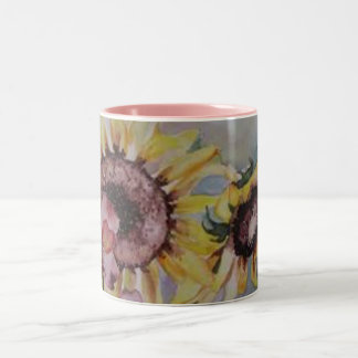 The Rising Sun by Lyn Graybeal Two-Tone Coffee Mug