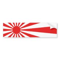 The Rising Sun Flag Bumper Sticker