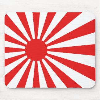 The Rising Sun Flag Mouse Pad