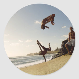 The Rising Sun Round Sticker