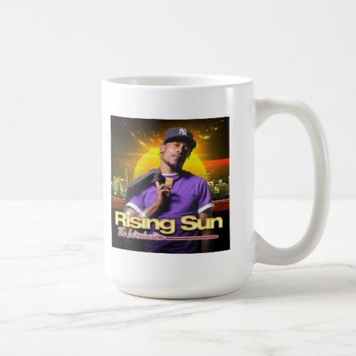 The Rising Sun White Tea Mug