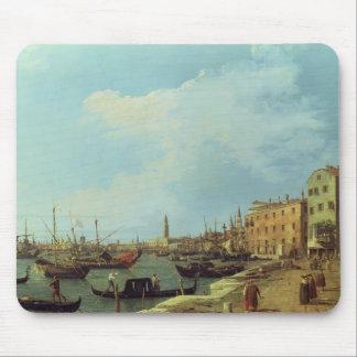 The Riva Degli Schiavoni, 1724-30 Mouse Pad