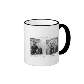 The Rival Fountains or Gin and Water Ringer Coffee Mug