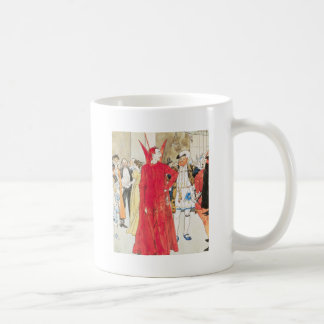 The Rival Mephistopheles: Philip William May; 1895 Classic White Coffee Mug