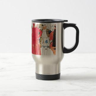 The Rival Mephistopheles: Philip William May; 1895 Travel Mug