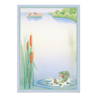The River © 5x7 Paper Invitation Card