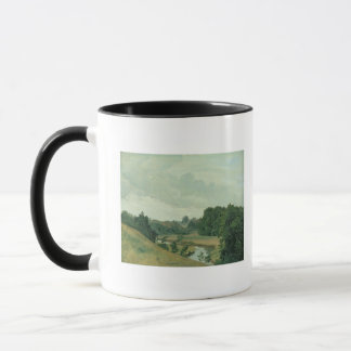 The River Alster at Poppenbuttel in the Mug