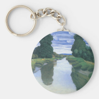 The River at Berville by Felix Vallotton Keychains