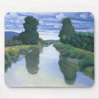 The River at Berville by Felix Vallotton Mouse Pad