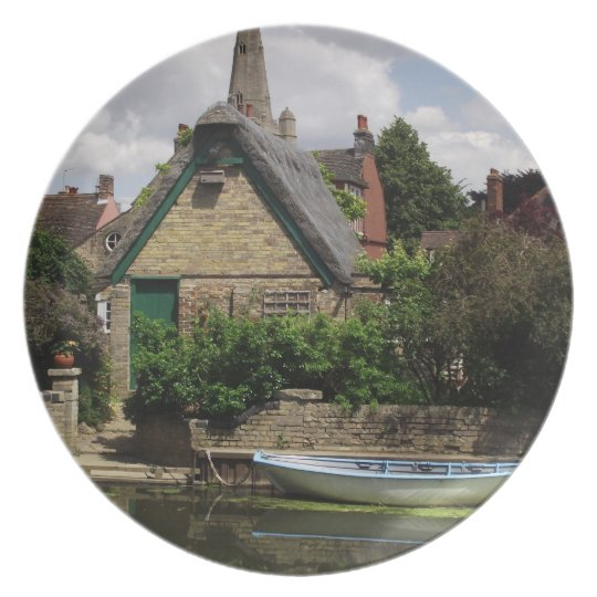 The River at Godmanchester Dinner Plate