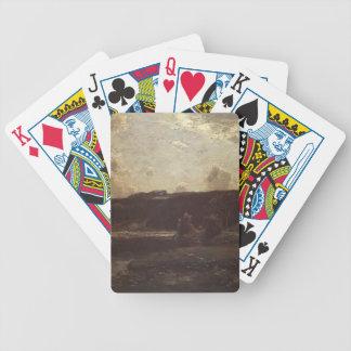 The River Bend by Julian Alden Weir Bicycle Card Decks
