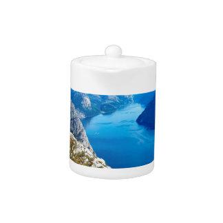 The River Blue Teapot