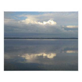 The River Dee and Distant Wirral from Flint Photo Art
