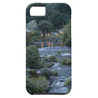 The River Dee, at Llangollen, Denbighshire, Wales iPhone 5 Cases