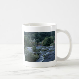 The River Dee, at Llangollen, Denbighshire, Wales Coffee Mug