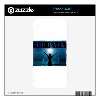 The River Fellowship Decal For The iPhone 4