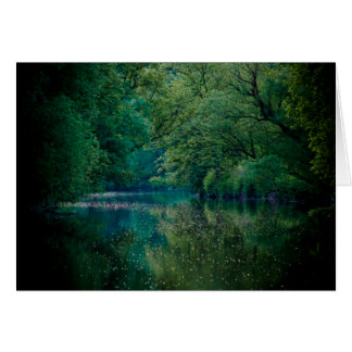 The River • Greeting Card
