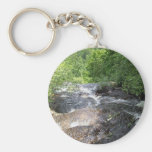 The River is Flowing Basic Round Button Keychain