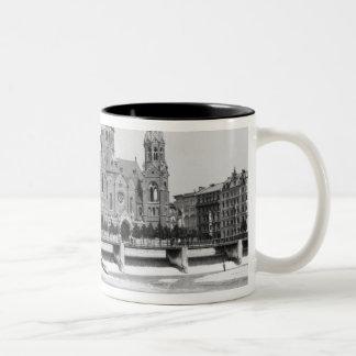 The river Isar at Munich c 1910 Coffee Mugs