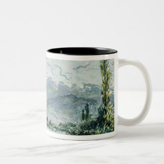 The River Isere at Grenoble, 1877 Coffee Mug