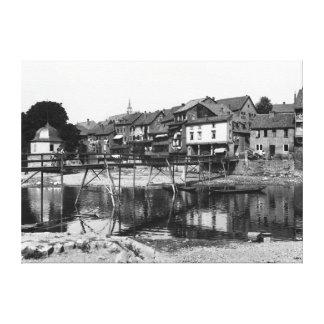 The River Nahe, Bad Kreuznach, c.1910 Canvas Print