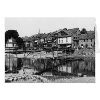 The River Nahe, Bad Kreuznach, c.1910 Card