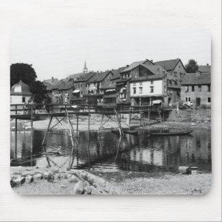 The River Nahe, Bad Kreuznach, c.1910 Mouse Pad