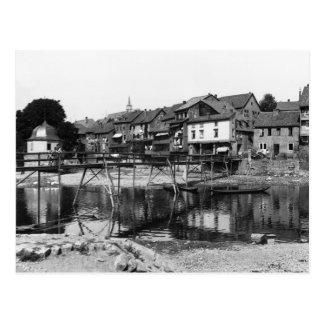 The River Nahe, Bad Kreuznach, c.1910 Postcard