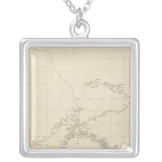 The River Niger Square Pendant Necklace