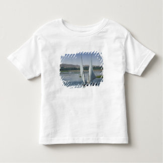 The River Nile and sailing boats used as Toddler T-shirt