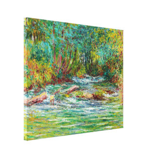 The River of Epte at Giverny, Summer Claude Monet Canvas Print